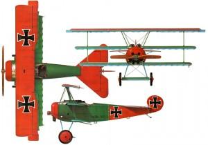 Concurso especial Fokker Dr.I