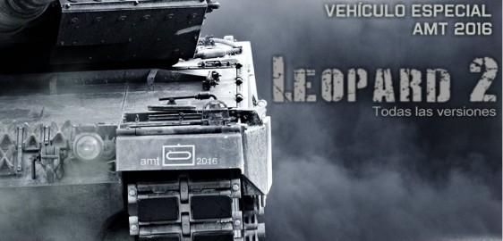 Premio especial Familia Leopard 1 y 2 MBT – AMT 2016