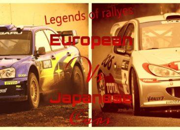 Especial AMT 2017. Legend of Rallyes – European vs Japanese